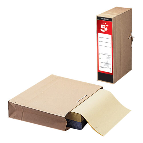 Transfer Storage Case Bags A4 & Foolscap [Pack 25] | A practical & economic option for transporting & storing documents | Fusion Office UK