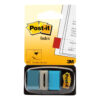3M 680-23 Post-It Index Medium Flags Bright Blue 50 Flags [Pack 12] | Essential to mark and colour code your documents | Fusion Office UK