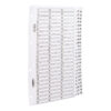 Concord Classic Index A4 1-75 Dividers White Punched Card 05601/CS56   Premium range of A4 dividers in 150gsm white card   Fusion Office UK