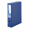 Rexel Colorado Box Files Blue A4 30443EAST [Pack 5]   Interior lockspring secures loose papers   Metal edge corners   Fusion Office UK