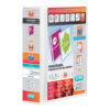 Elba Panorama 4D Ring-Binders 65mm White A4 400001305 [Pack 10] | Front, back & spine pockets for personalisation | Fusion Office UK