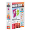 Elba Presentation Ring-Binders 2-Ring 50mm White A4 400007674 [Pack 4]   Front, back & spine pockets for personalisation   Fusion Office UK