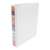 Elba Presentation Ring-Binders 2-Ring 25mm A5 White 400008434 [Pack 6] | Front, back & spine pockets for personalisation | Fusion Office UK