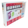 Elba Presentation Ring-Binders 2-Ring 30mm A3 White 100082424 [Pack 2] | Front, back & spine pockets for personalisation | Fusion Office UK