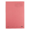 Elba Square Cut Folders Foolscap Red 285gsm 100090222 [Pack 100] | Made from 100% recycled material and recyclable | Fusion Office UK