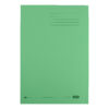 Elba Strongline Square Cut Folders Green 100090022 [Pack 50] | 100% recycled and recyclable | Heavyweight 320gsm manilla | Fusion Office UK