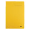 Elba Strongline Square Cut Folders Yellow 100090023 [Pack 50] | 100% recycled and recyclable | Heavyweight 320gsm manilla | Fusion Office UK