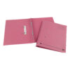 Elba Spirosort Transfer Spring Files Pink 100090162 [Pack 25] | Made from a minimum 70% recycled material and recyclable | Fusion Office UK