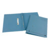 Elba Spirosort Transfer Spring Files Blue 100090159 [Pack 25]   Made from a minimum 70% recycled material and recyclable   Fusion Office UK