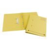 Elba Spirosort Transfer Spring Files Yellow 100090163 [Pack 25]   Made from a minimum 70% recycled material and recyclable   Fusion Office UK