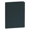 Presentation Display Book 40 Pockets Black | Premium quality black A4 display book | Glass clear interior pockets | Fusion Office