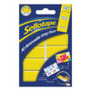 Sellotape 10 Removable Sticky Fixers 1445286 [Pack 12]   Strong double sided adhesion pre-cut pads   Indoor Use   Fusion Office UK