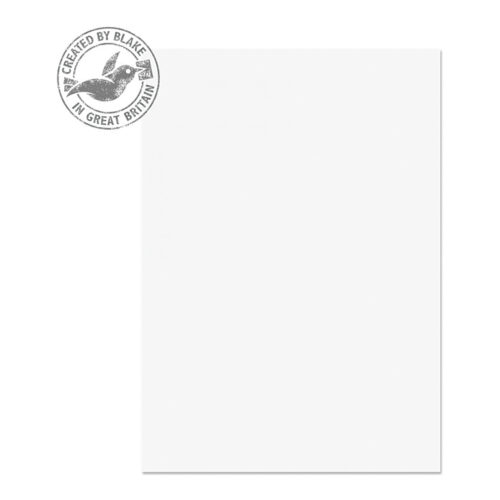 Blake Premium Wove Diamond White A4 120gsm Paper [Pack 500] | Ideal for Letterheads, leaflets, invitations & certificates | Fusion Office UK
