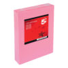 Paper A4 Medium Pink 80gsm (500 Sheets) Ream   Colour code documents for ease of filing & identification   laser & Inkjet   Fusion Office UK