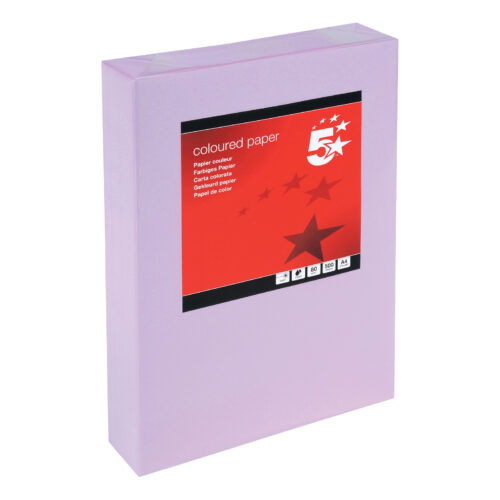 Paper A4 Medium Violet 80gsm (500 Sheets) Ream   Colour code documents for ease of filing & identification   laser Inkjet   Fusion Office UK