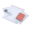 Bubble Pouch Bags 230x285mm [Pack 300] | Peel & Seal | Clear Polythene | 35 Microns | Protective outer bubble pouch | Fusion Office