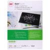 GBC Laminating Pouches Matt A4 150mic 3747240 [Pack 100] | Matt Finish | Compatible with all popular brands of laminator | Fusion Office UK
