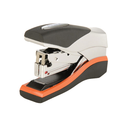 Rexel Optima 40 Stapler 2103357 [40 Sheets]   High performance flat clinch stapler for stapling up to 40 sheets   Fusion Office UK