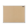 Nobo Cork Noticeboard 1200x900mm 1904064 | Self-healing cork surface to display notices | Exceptional pin-holding power | Fusion Office UK