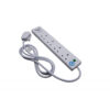 Extension Lead 4 Way USB Surge Protection 2 Metres   Two USB ports - (3.1A shared) to power and charge your devices   Fusion Office UK