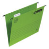Elba Verticflex Ultimate A4 Green 100331150 [Pack 25] | 100% recycled material and Blue Angel accredited manilla | Fusion Office UK