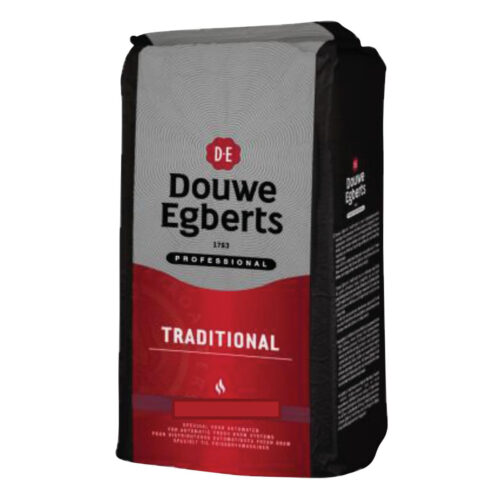 Douwe Egberts Traditional Freshbrew Filter Coffee 1kg | Use in Freshbrew machines | Medium roasted coffee | Fusion Office