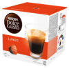 """Nescafe Dolce Gusto Lungo [Pack 48]   Smooth, enticingly dark """"stretched espresso"""" coffee   The Lungo is a 'long coffee'   Fusion Office UK"""