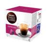 Nescafe Dolce Gusto Espresso [Pack 48]   It is the smooth crema layer that tells you you're drinking a full-bodied espresso   Fusion Office UK
