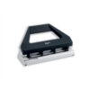 Rexel V430 4 Hole Punch Black 08909 [30 Sheets]   Fully adjustable punch for most international hole formats   Fusion Office UK