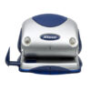 Rexel Precision 215 2-Hole Punch Silver/Blue 2100739 [15 Sheets]   Premium metal 2 hole punch for effortless punching   Fusion Office UK