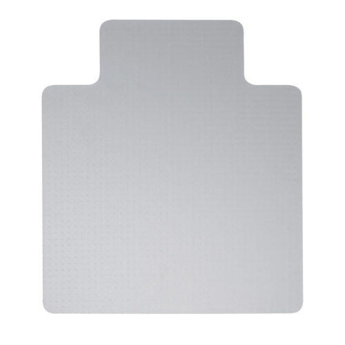 PVC Lipped Hard Floor Large Chair Mat 1150x1340   Smooth back for hard floor application   This chair mat features a lip   Fusion Office UK