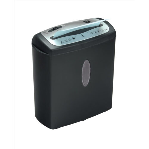 Cross Cut Shredder 8 Sheets / 15 Litres CC8 | 8 sheets of paper per pass | Shreds credit cards, staples and CDs | Fusion Office UK