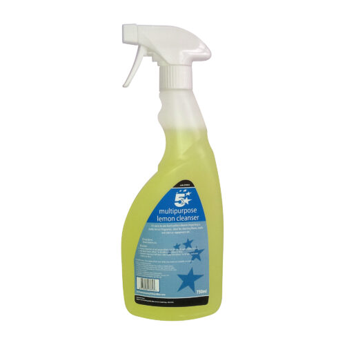 Multi Purpose Spray Cleaner 750ml | Ready to Use | Ideal for removing grease & grime on most surfaces | Fusion Office