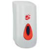 Liquid Soap Wall Dispenser Small 400ml | Ideal for any busy washroom | Easy clean smooth edges | Fusion Office