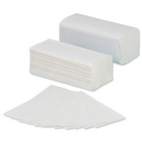 V-Fold Hand Towels White 2 Ply [3200] | I-Fold | Dries hands hygienically & efficiently | Soft, absorbent & Strong | Fusion Office