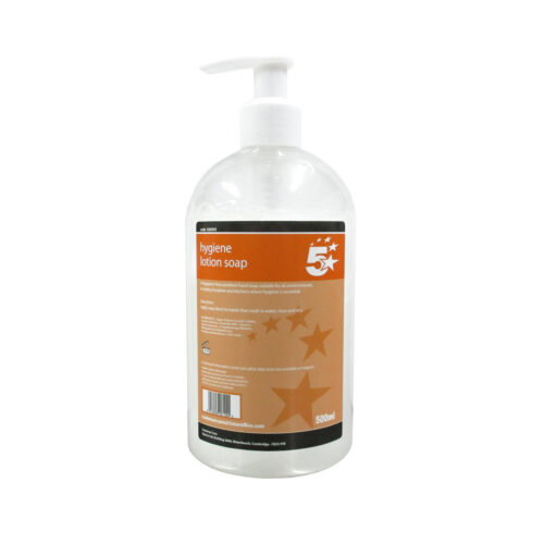 Hygiene Soap Hand Wash 500ml | Pump Dispenser | Prevents germs and cross-contamination | Fusion Office
