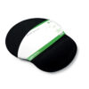 Recycled Mouse Pad with Wrist Rest | One size fits all | Fabric covering | 100% recycled materials | Fusion Office