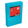 Card A4 Deep Blue 160gsm (250 Sheets) Ream   Colour code documents for ease of filing & identification   laser & Inkjet   Fusion Office UK
