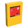 Card A4 Deep Orange 160gsm (250 Sheets) Ream   Colour code documents for ease of filing & identification   laser & Inkjet   Fusion Office UK