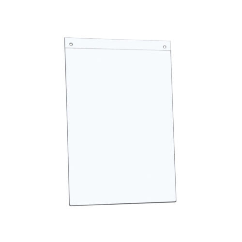 Wall Sign Holder A4 Portrait | Pre-drilled holes make wall mounting easy | Easily switch out inserts without removing | Fusion Office UK