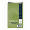 Cambridge Recycled Reporters Notepads 100080468 [Pack 10]   Shorthand Notebook   perfect for informal note-taking   Fusion Office UK