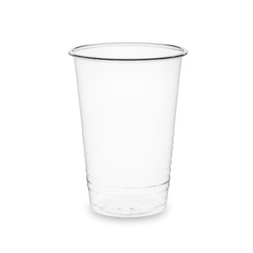 Vegware Water Cups 7oz PLA Clear [Pack 100] | Plant-based catering disposables, made from renewable, lower carbon or recycled materials