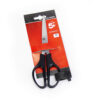 Scissors 165mm Black ABS Handles   Rust & corrosion resistant steel blades   All Purpose Scissors   Fusion Office