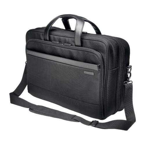 17 Inch Laptop Case Black Kensington Contour K60387EU | Comfortable, secure, stylish, durable and TSA checkpoint friendly | Fusion Office UK