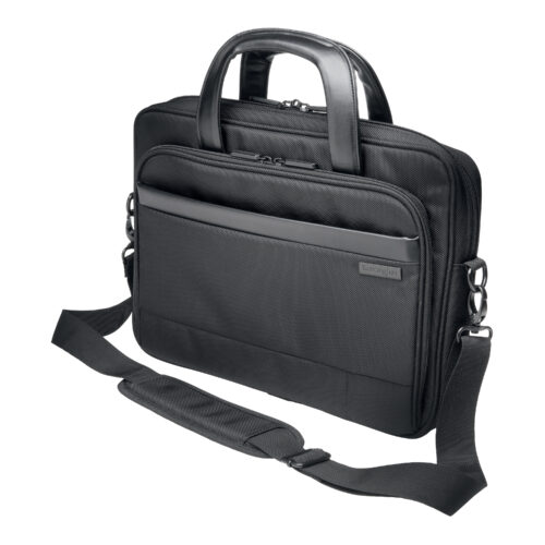 14 Inch Laptop Case Black Kensington Contour K60388EU   Comfortable, secure, stylish, durable and TSA checkpoint friendly   Fusion Office UK