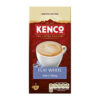 Kenco Flat White Coffee Instant Sachets [Pack 8 x 5] (40) | Perfect balance of strong espresso and smooth milk | Fusion Office