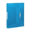 Rexel Choices Box File Blue 2115667   40mm A4 Polypropylene   Stylish and ergonomic elastic fastening   Lightweight   Fusion Office UK
