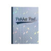Pukka Pad Glee A4 Refill Pads Light Blue 8893-GLE [Pack 5] | Fashionable card cover design | Feint Ruled and Margined | Fusion Office UK
