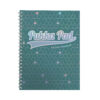 Pukka Pad Glee A4 Green Jotta Notebook 3008-GLE [Pack 3] | With a stylish Glee cover, these feature a strong twin wire | Fusion Office UK