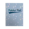 Pukka Pad Glee A4 Light Blue Jotta Notebook 3009-GLE [Pack 3] | With a stylish Glee cover, these feature a strong twin wire | Fusion Office UK